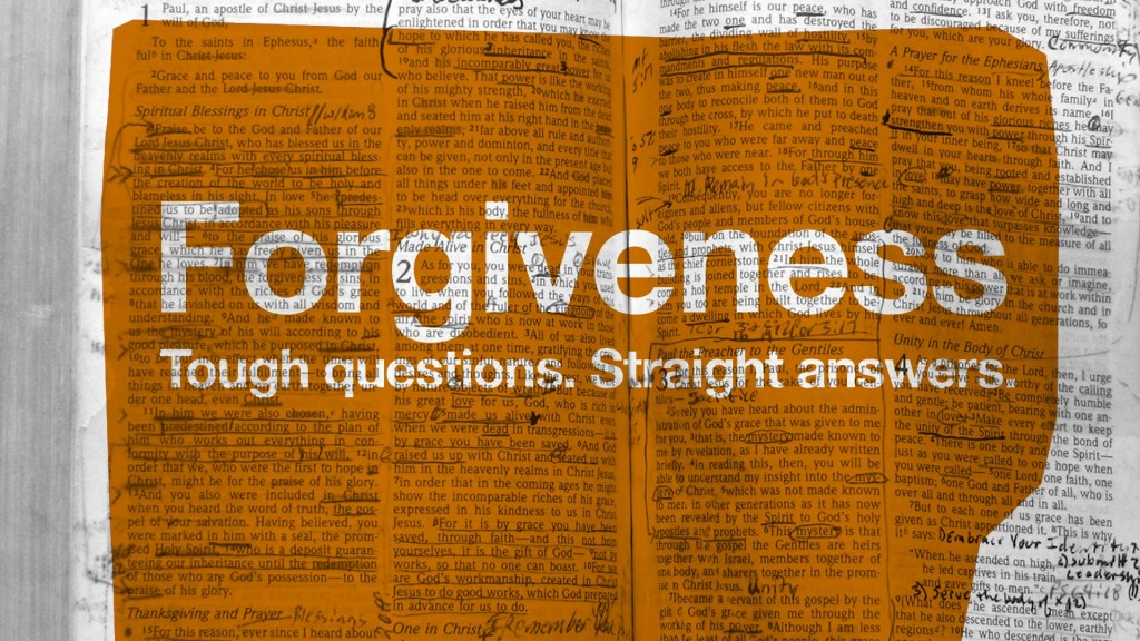 Supernatural Forgiveness